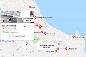 Restaurants near B&B Guesthouse